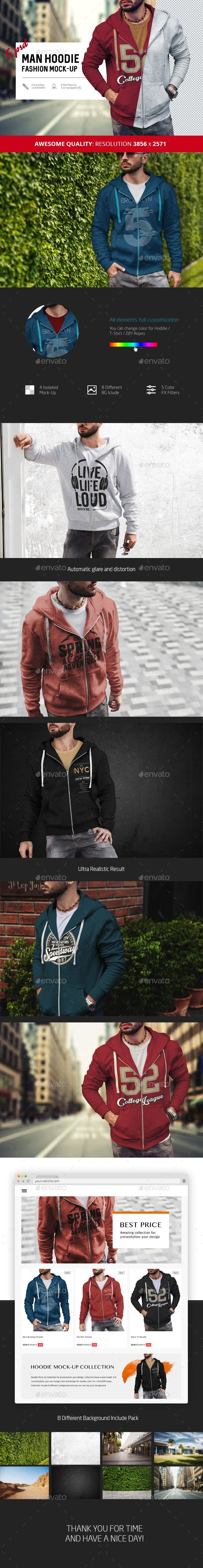 Download Man Hoodie Fashion Mock Up Hoodies Men Style Social Media Design Graphics Hoodie Fashion