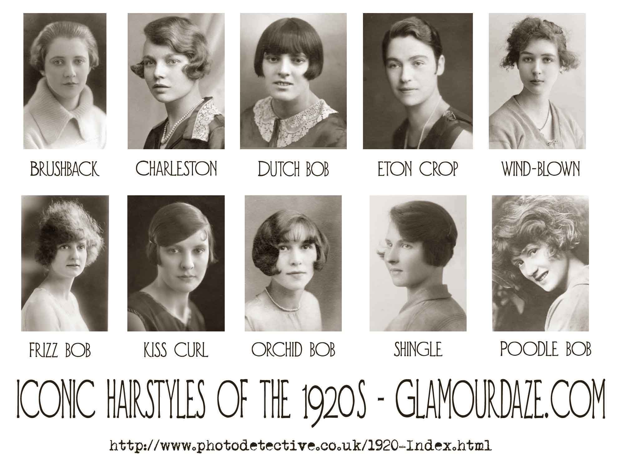 Iconic Hairstyles Of The 1920's