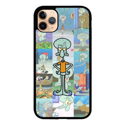 Squidward Spongebob Wallpaper L3002 iPhone 11 Pro Case in
