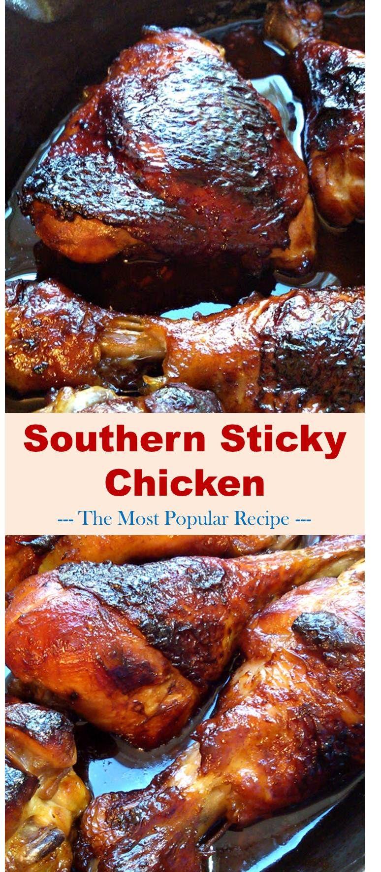 Photo of Southern Sticky Chicken