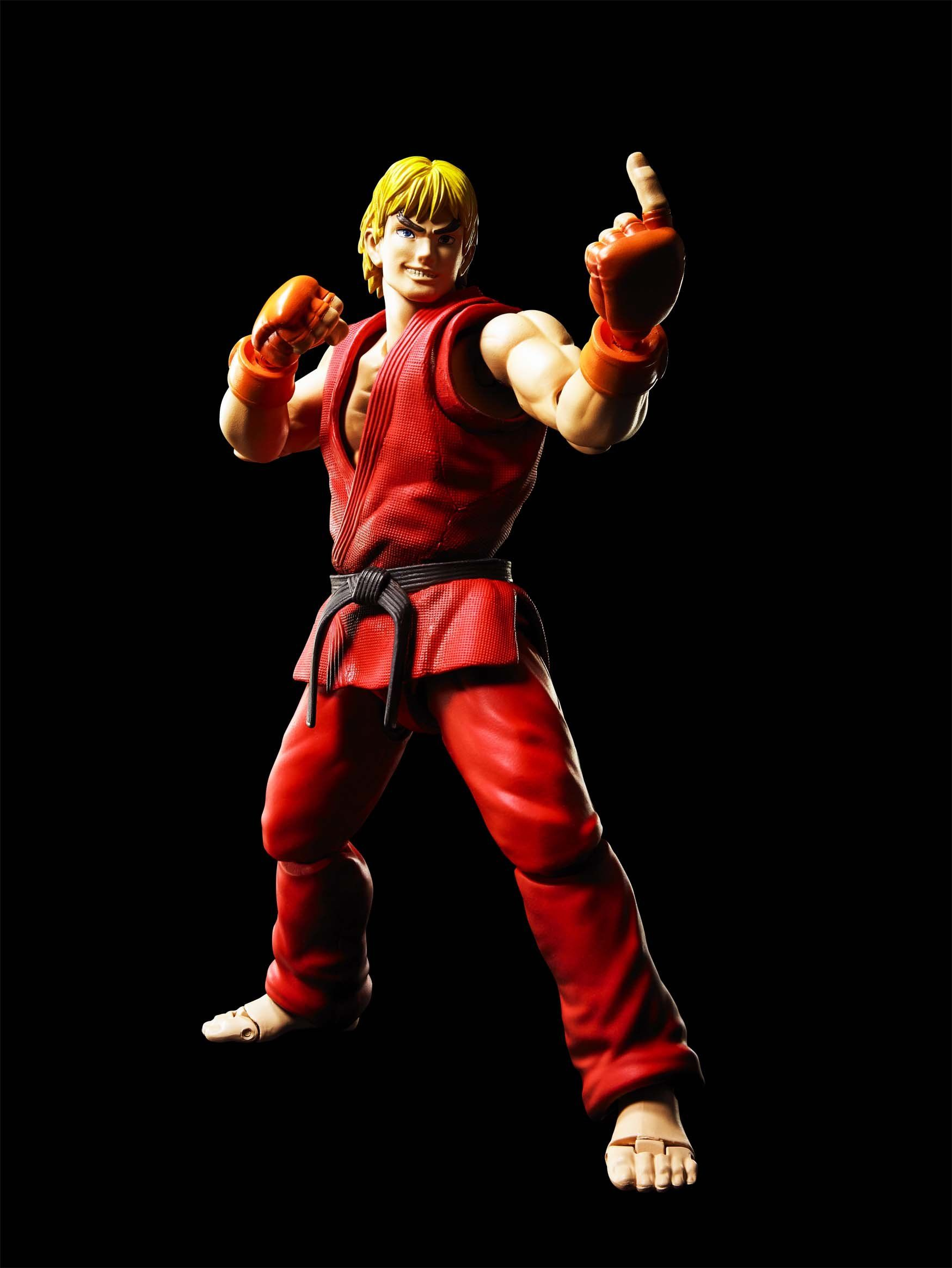 Tamashii Nations S H Figuarts Ken Masters Street Fighter Action