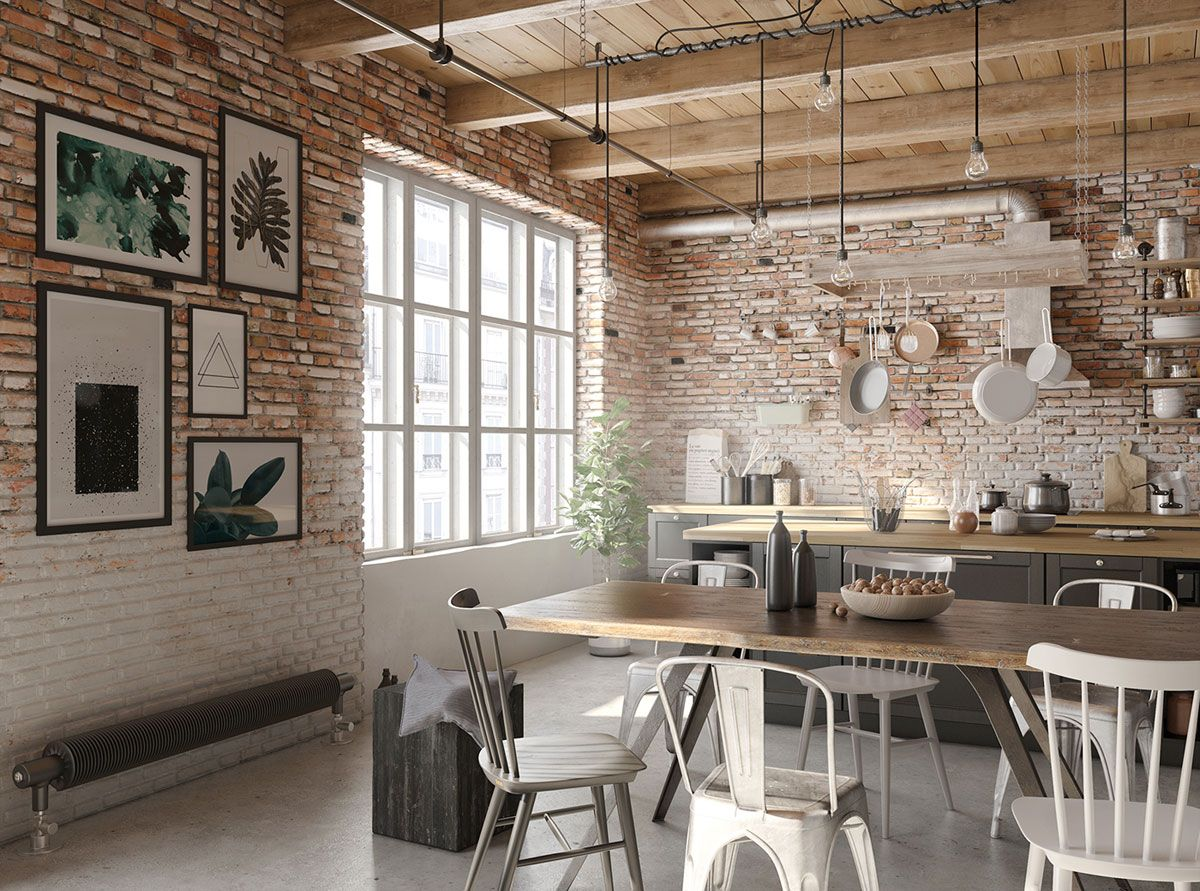 Best Four Types Of Industrial Style Decor Kitchen Decor 640 x 480