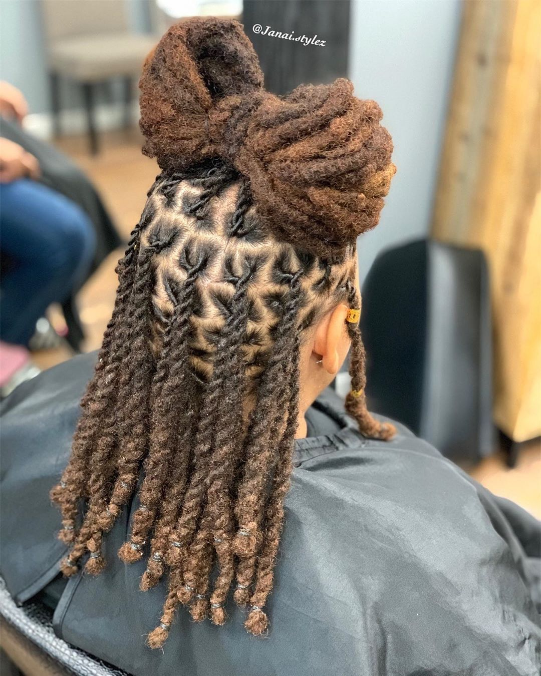 Pin On Girls Kids Natural Hair Locks