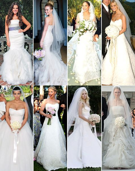 30 Celebrity Brides Who Wore Vera Wang To Their Weddings | Celebs ...