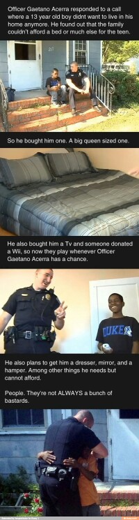 Police officers can be kind♡