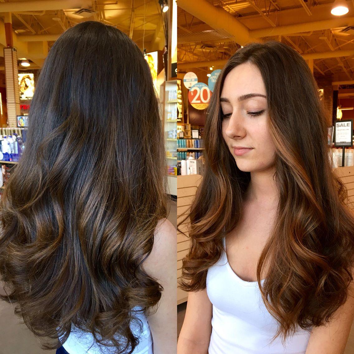 balayage sun kissed caramel highlights hair ideas long hair styles hair styles caramel. Black Bedroom Furniture Sets. Home Design Ideas