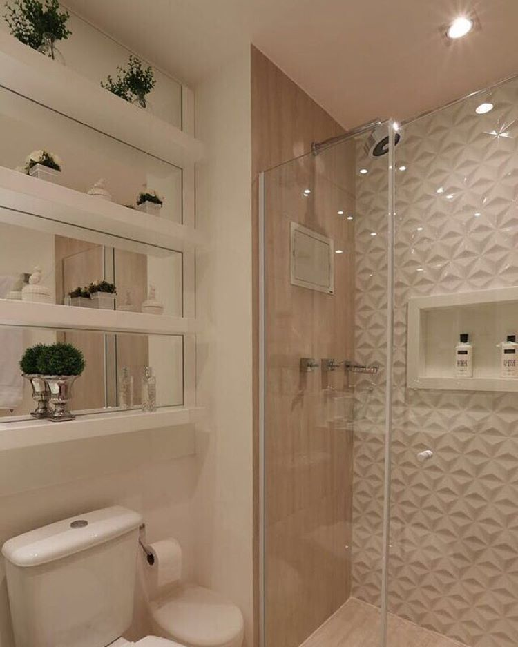 """""""Outro ângulo do banheiro maravilhoso do post de ontem...By @moniserosaarquitetura Foto @mariana_orsi #arquitetura #decore #arquiteturadeinteriores…"""""""