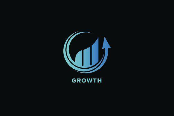 Growth Logo Template Logo Templates Logo Design Logo Design Creative