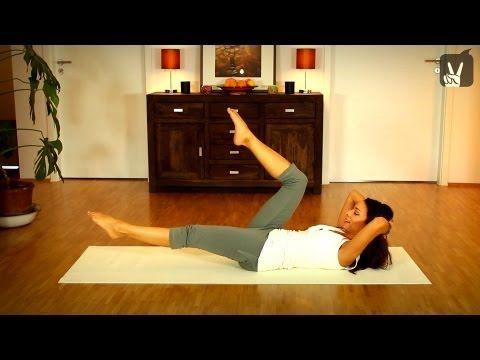 Pilates Top 5 Übungen für eine perfekte Bikini Figur! Viel Spaß bei Happy & Fit! #pilatesvideo
