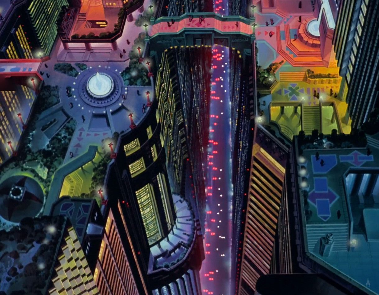 Akira panoramas anime city akira anime anime background