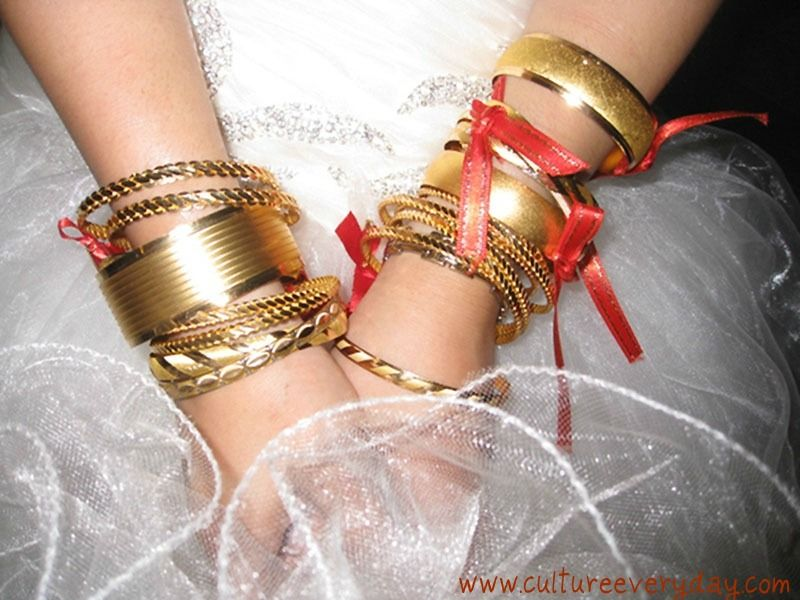 In Turkish Culture Its Customary To Gift The Bride With