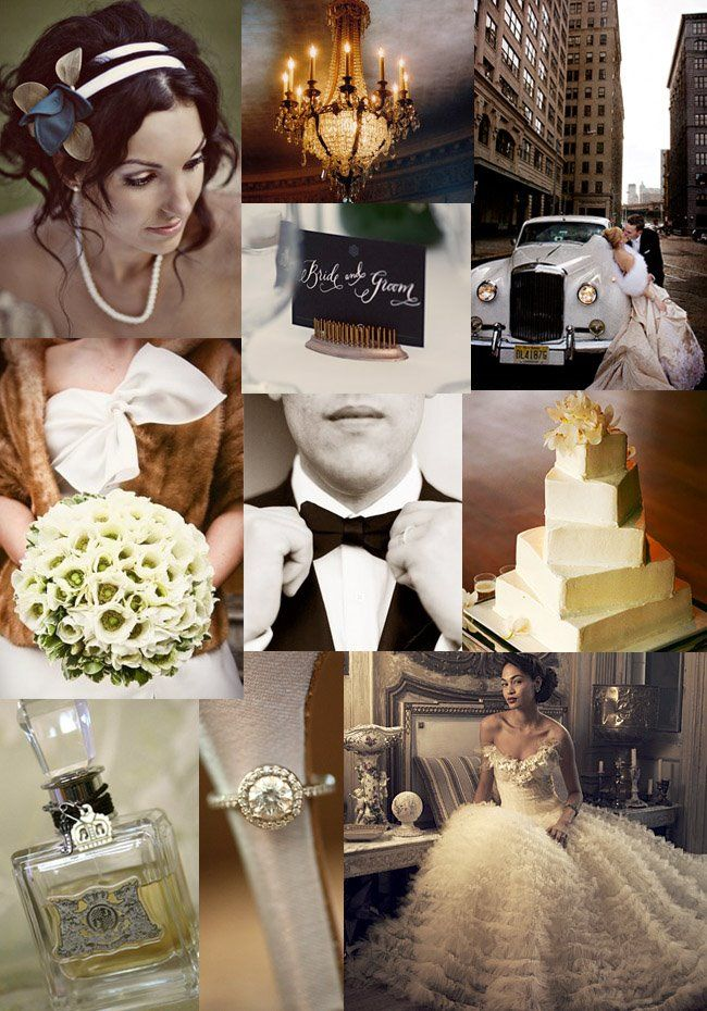 Winter Wedding In The City Vintage Wedding Theme Wedding Themes