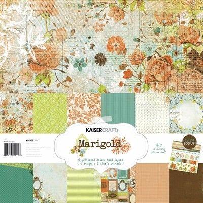 12 papiers 30x30cm Kit Collection scrapbooking KaiserCraft LULU /& ROY stickers