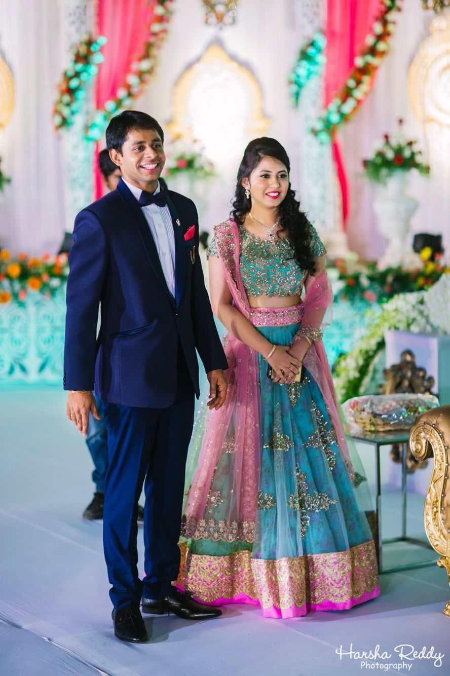 South Indian Wedding Reception Costumes
