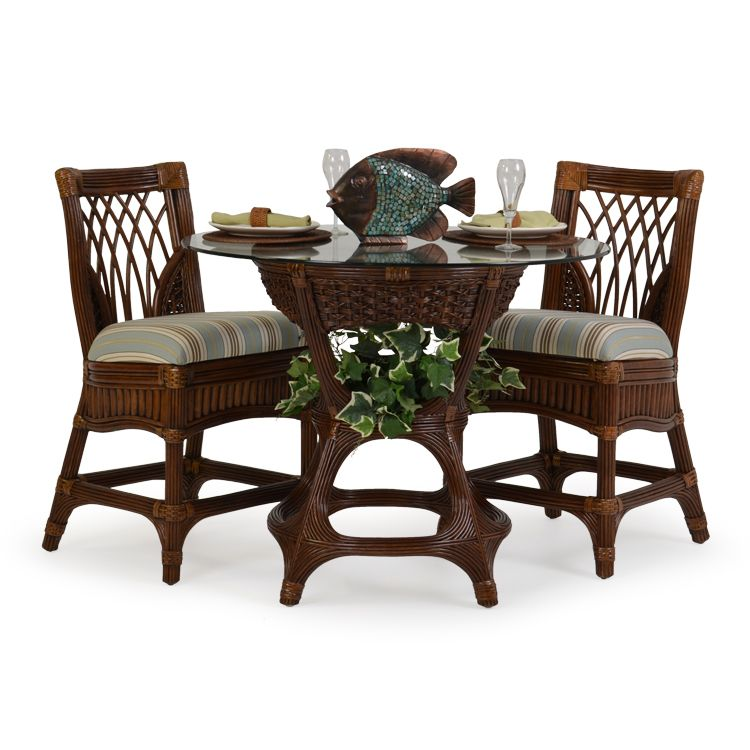 Island Way Rattan 3 Piece Counter Height Set Leaders Casual Furniture Pub Table Sets Buffet Cabinet Outdoor Furniture Sets