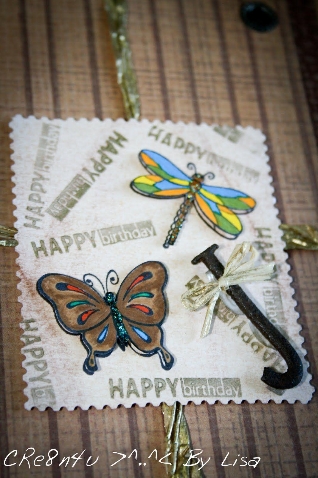 Crenu handmade creations by lisa birthday cards crenu