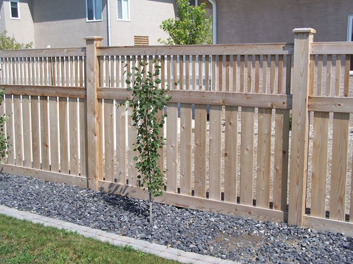 Prairie style fence fencing view full gallery fence for Craftsman style fence