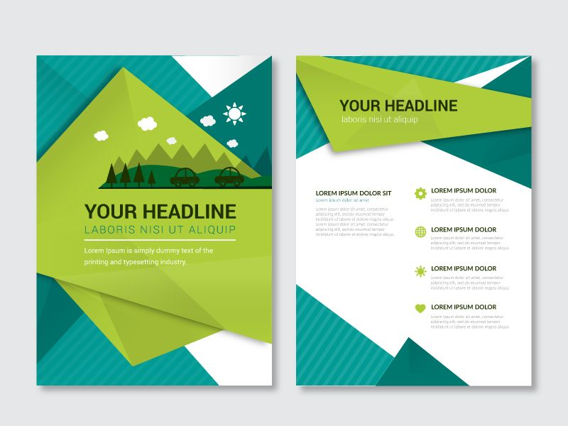 Environmental Brochure Brochure Template Free Brochure Booklet