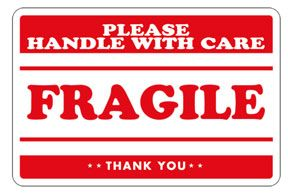 graphic about Fragile Labels Printable named Sensitive Labels Transferring Sensitive label, Printing labels
