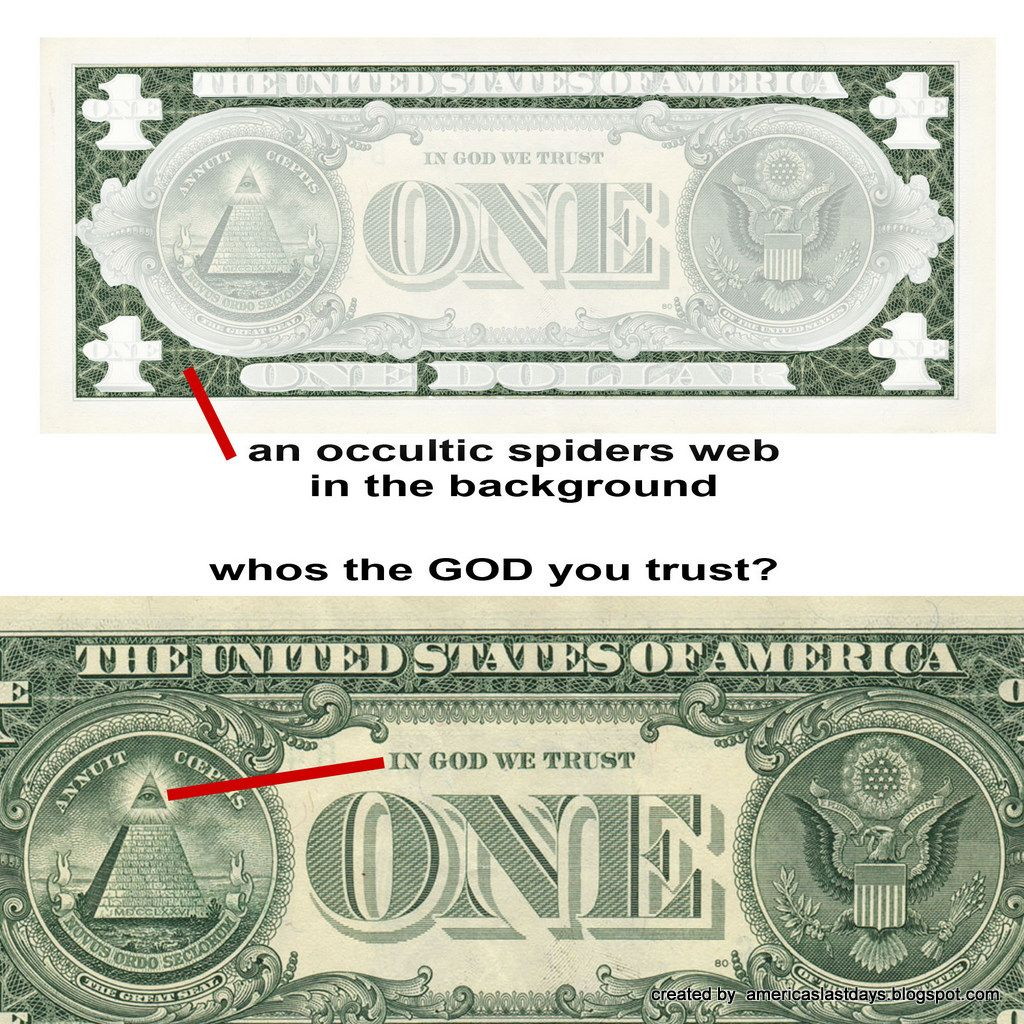 Americas last days hidden symbolism of the dollar money there are very clear masonic symbols hidden within the dollar bill together they tell of the creation of a new world order based on the s biocorpaavc Images