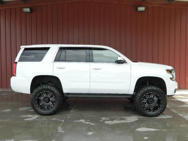2016 Tahoe Lifted >> Awesome 2016 Lifted 4wd Tahoe With Less Than 7 000 Miles For Only