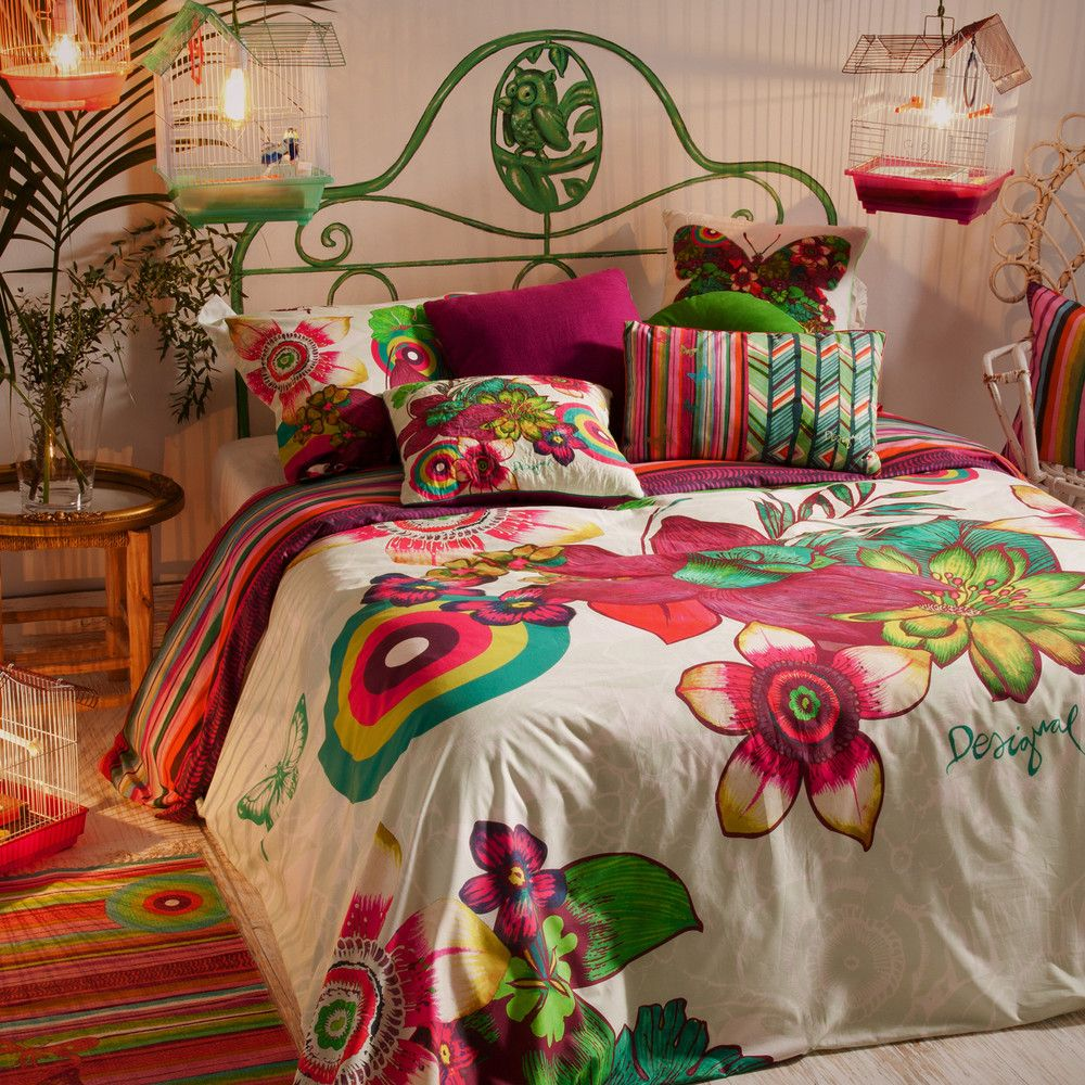 Tropikal Duvet Set King From Desigual Tropical Bedrooms