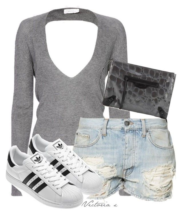 Sem título #564 by sweetdecember on Polyvore featuring polyvore, fashion, style, A.L.C., Tiger of Sweden and Balenciaga