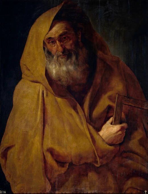 Santiago el Menor, Rubens, 1612-1613, Óleo sobre tabla, Museo del Prado
