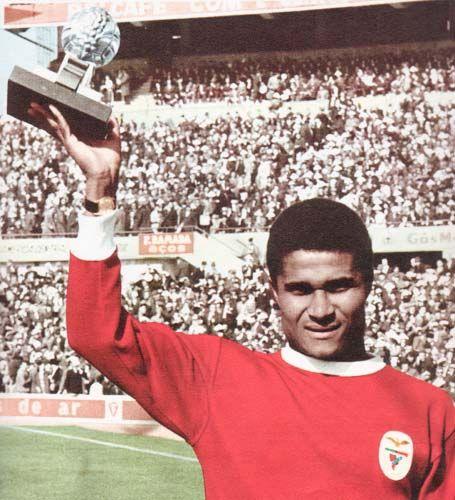 Eusébio da Silva Ferreira Ballon d'or 1965.(attaquant - Benfica Lisbonne) | Clube, Golo