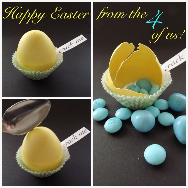 Easter baby gender reveal its a boy to make by hand easter baby gender reveal negle Gallery