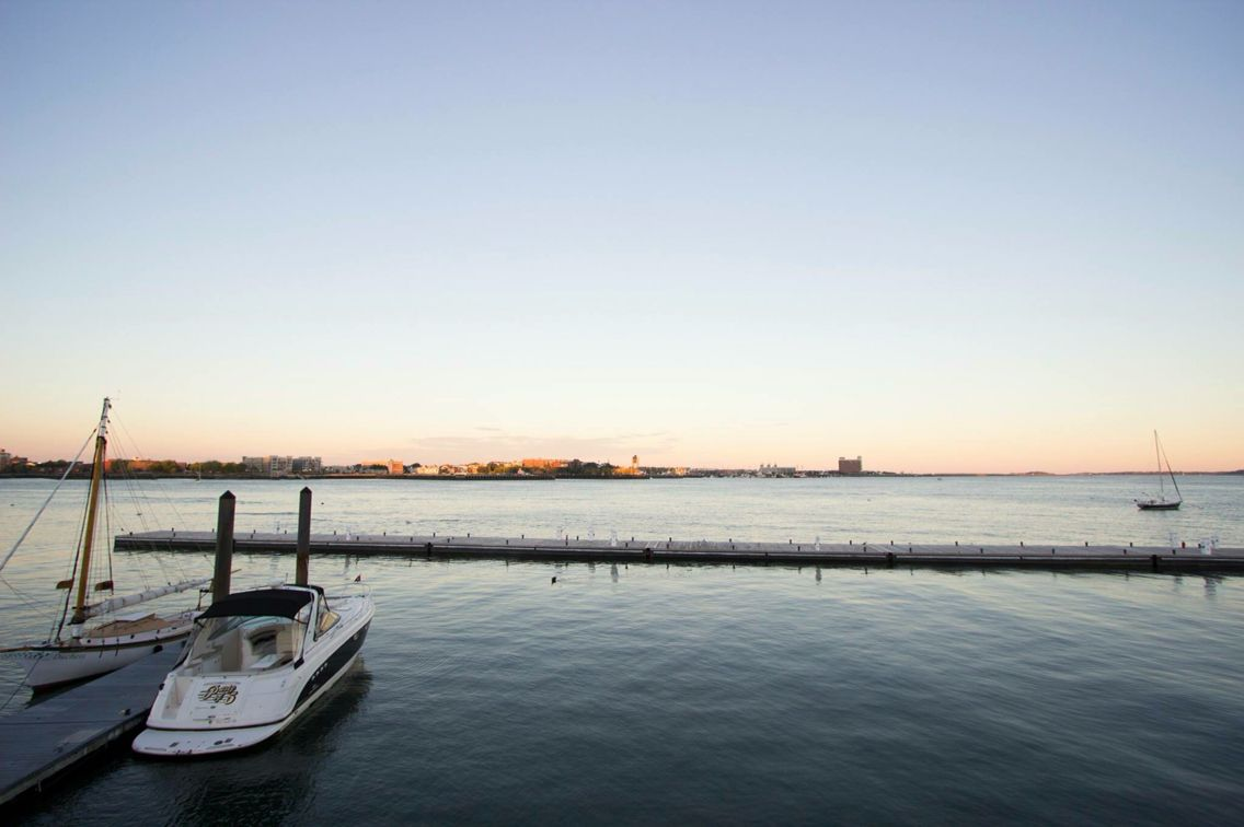 Oceanic view newr North End, Boston. North End is an Italian historic neighborhood. One of the oldest neighborhoods of the U.S.  #ocean #history #italy #boston #boat #sunset #afternoon #weekend #getaway #sky