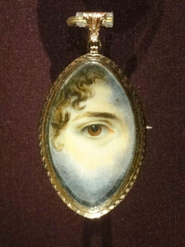 Painted eye miniature