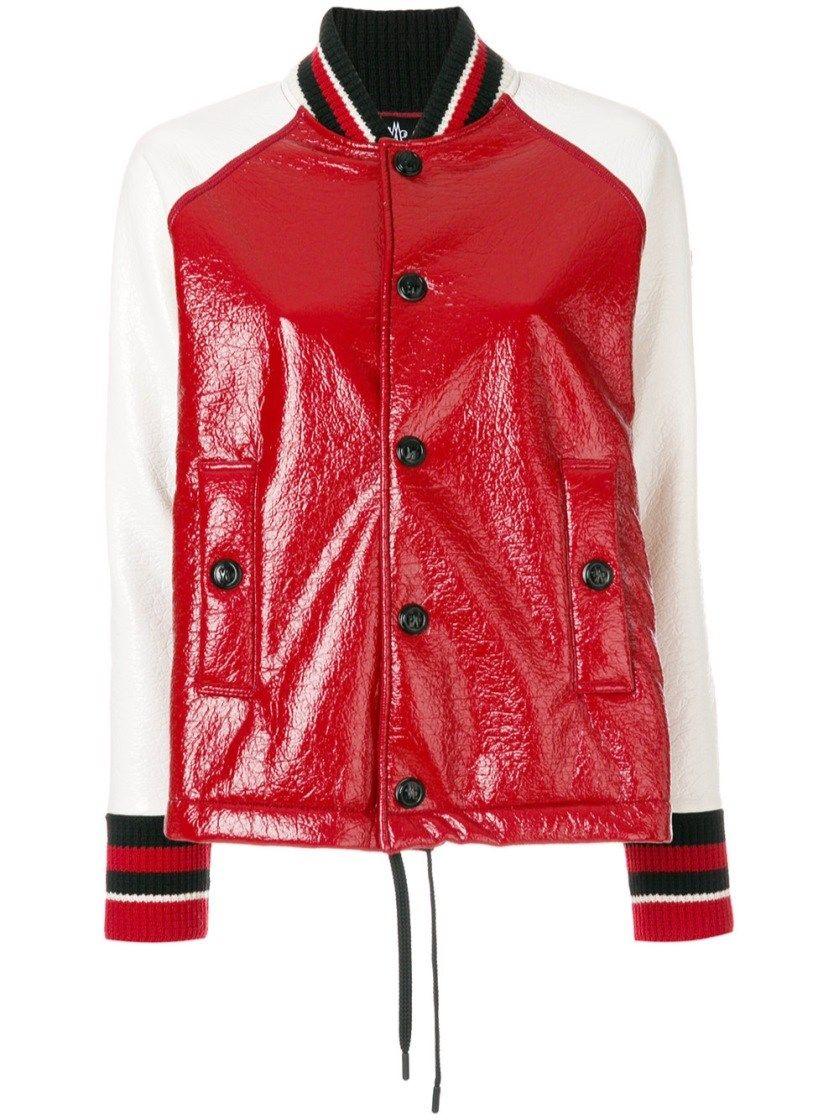 MONCLER GRENOBLE a-line bomber jacket. #monclergrenoble #cloth #