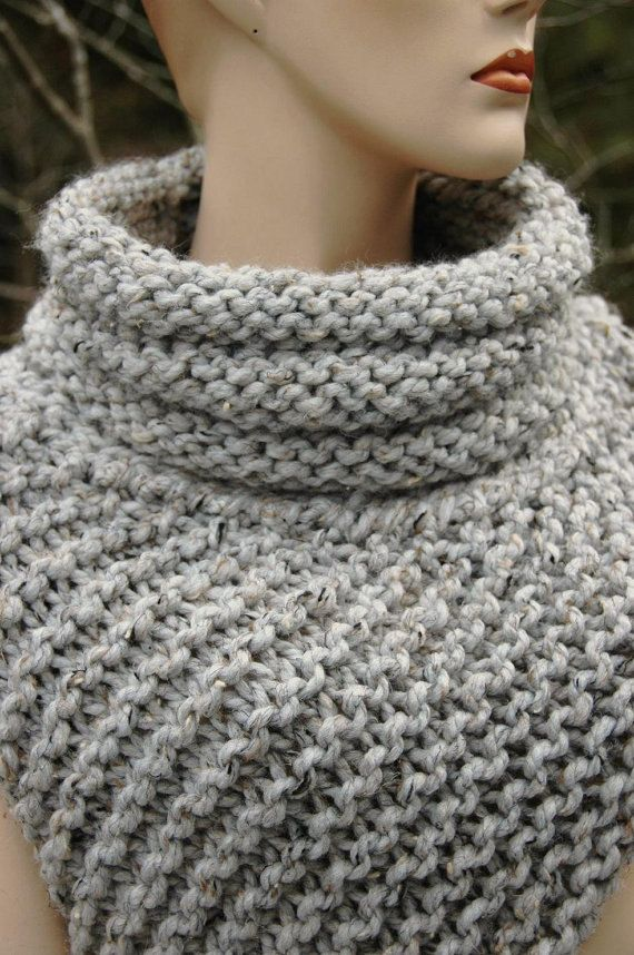 Knitting Pattern - Katniss Cowl Huntress Vest | Knit patterns, Pdf ...