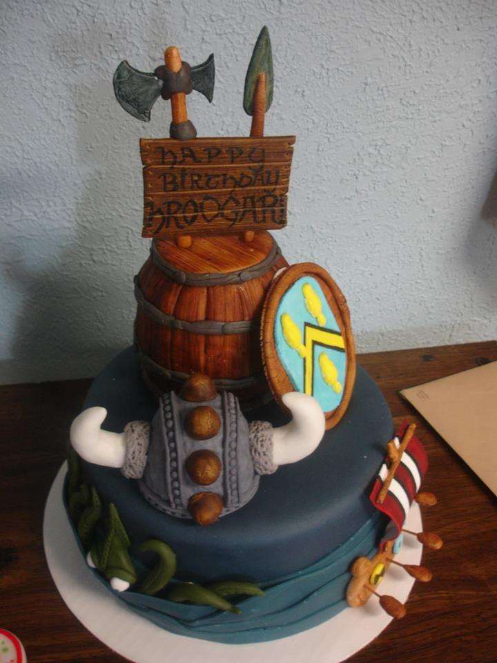 Viking Cake Cupcake Cakes Cake Fondant Cakes