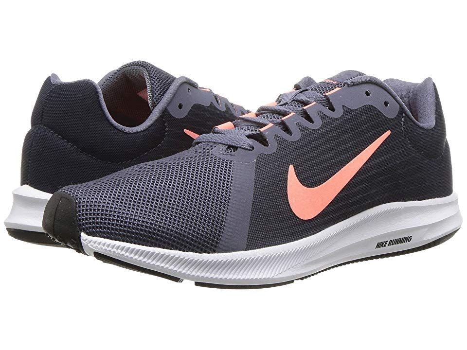 8bb0286850aff Nike Downshifter 8 (Light Carbon Crimson Pulse Thunder Blue) Women s  Running Shoes
