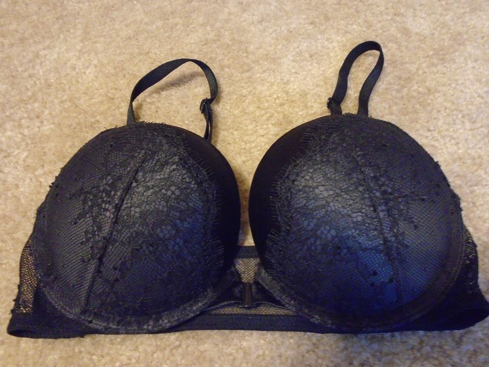 e4f83374cee VICTORIA SECRET 32C BOMBSHELL ADD-2-CUP SIZES MULTI-WAY!!! Black NWOT   fashion  clothing  shoes  accessories  womensclothing  intimatessleep (ebay  link)