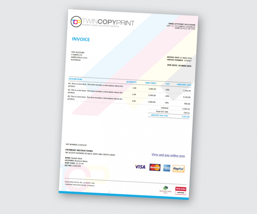 Xero Custom Invoice Template With Items Discount Postal And Within Invoice Template New Zealand 10 Pr Invoice Template Customs Invoice Invoice Template Word