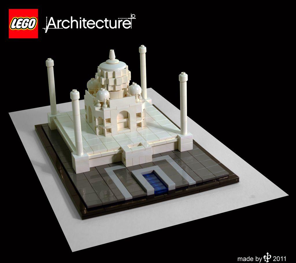 taj mahal 3 Lego architecture, Micro lego, Lego