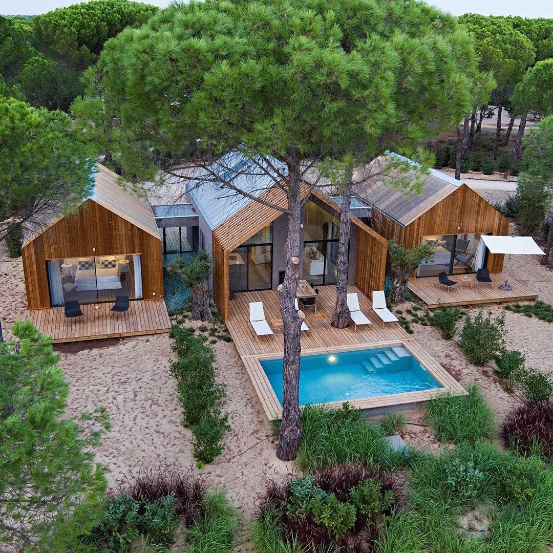 Two bedroom villa cabanas architecture design