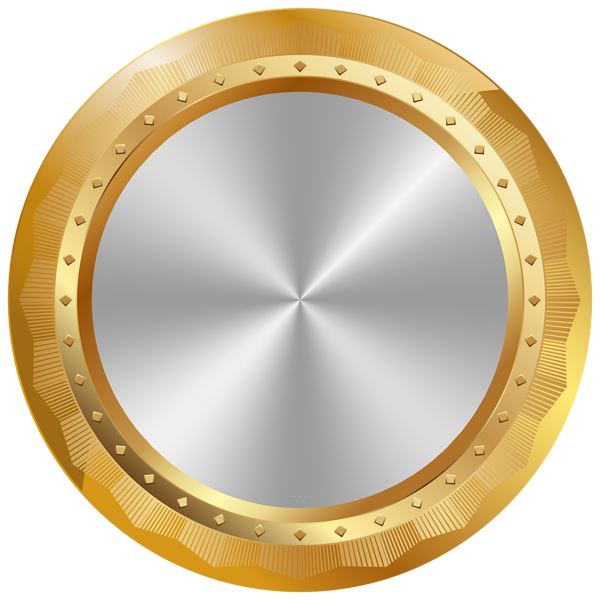 Gold Seal Badge Png Transparent Clip Art Image Logo Design Art Logo Design Inspiration Sports Initials Logo Design