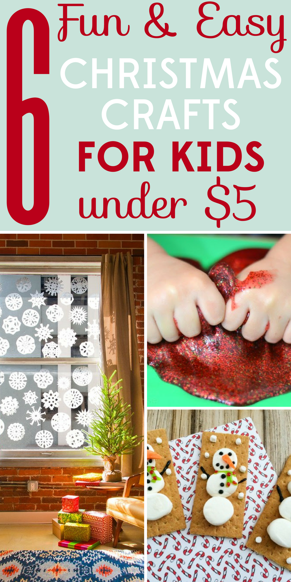 6 Fun And Easy Christmas Crafts For Kids Under $5