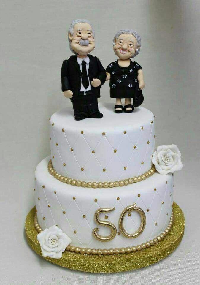Pin By Danielle Navarro On Cake 50th Wedding Anniversary Cakes