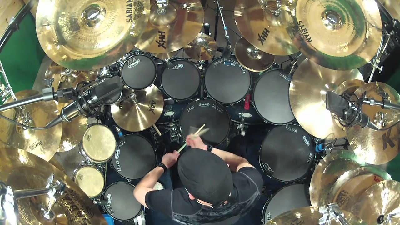 B Y O B By System Of A Down Drum Cover By Kevan Roy