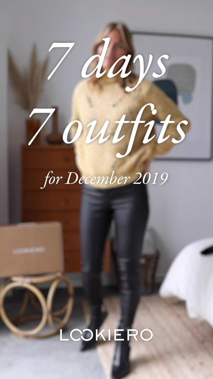 Photo of 7 days, 7 looks: December 2019