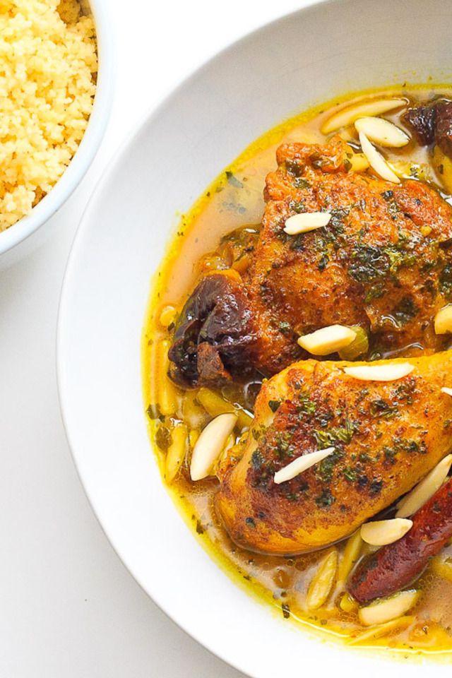 Moroccan Tagine with Saffron Couscous