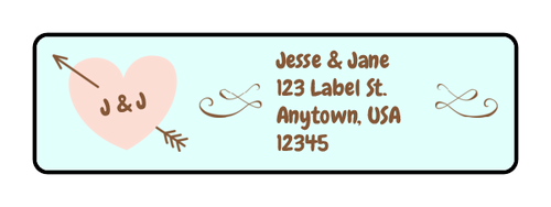 Autumn Theme Address Labels Template For Microsoft Word