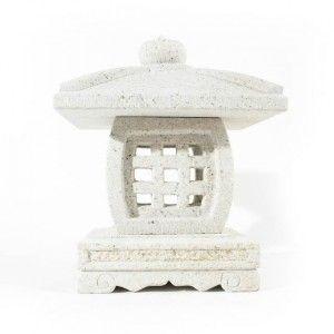 lanterne japonaise en granit 30cm home gifts. Black Bedroom Furniture Sets. Home Design Ideas