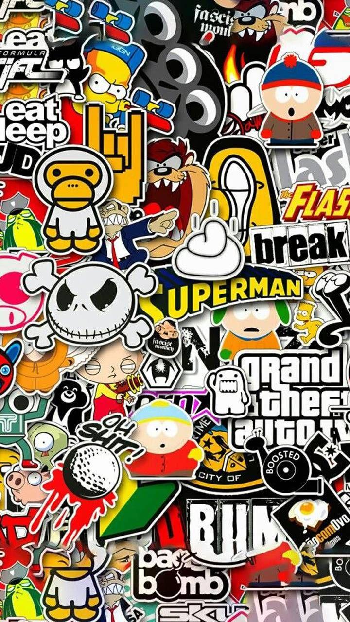 Wallpaper Stickers wallpaper by PedroArmenta - 72 - Free on ZEDGE™