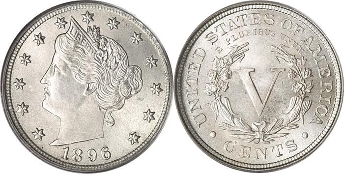 Liberty Head V Nickel Us Coin Values Charts Key Date Prices
